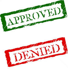 approved - denied