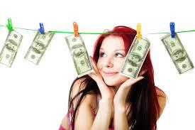 drying money